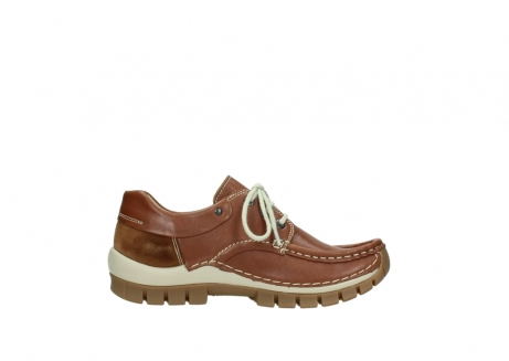 wolky chaussures a lacets 04701 fly 70430 cuir cognac_13