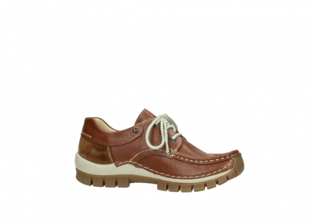wolky chaussures a lacets 04701 fly 70430 cuir cognac_14
