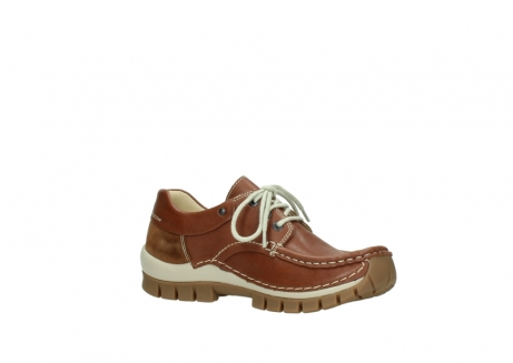 wolky lace up shoes 04701 fly 70430 cognac leather_15