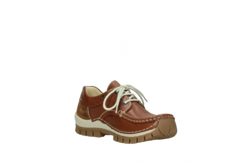 wolky lace up shoes 04701 fly 70430 cognac leather_16