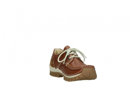 wolky chaussures a lacets 04701 fly 70430 cuir cognac_17