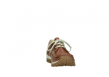wolky chaussures a lacets 04701 fly 70430 cuir cognac_18