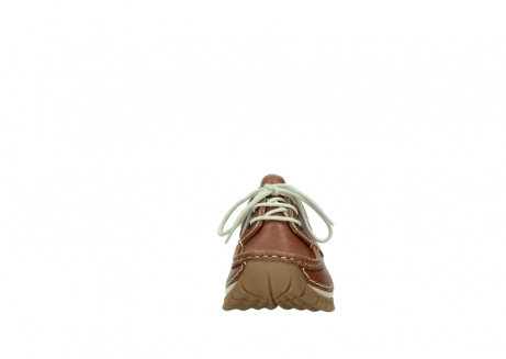 wolky chaussures a lacets 04701 fly 70430 cuir cognac_19