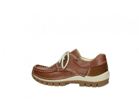 wolky chaussures a lacets 04701 fly 70430 cuir cognac_2