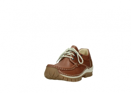 wolky chaussures a lacets 04701 fly 70430 cuir cognac_21