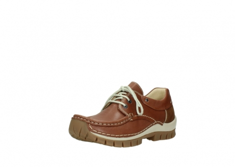 wolky chaussures a lacets 04701 fly 70430 cuir cognac_22