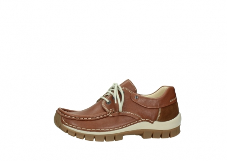 wolky chaussures a lacets 04701 fly 70430 cuir cognac_24