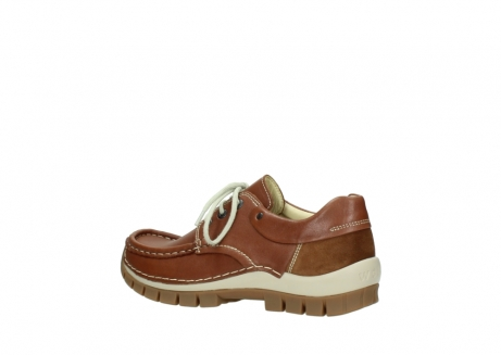 wolky chaussures a lacets 04701 fly 70430 cuir cognac_3