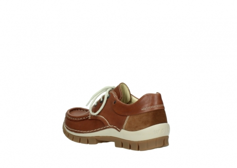 wolky chaussures a lacets 04701 fly 70430 cuir cognac_4