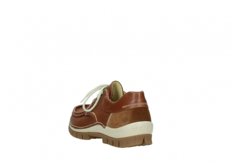 wolky chaussures a lacets 04701 fly 70430 cuir cognac_5