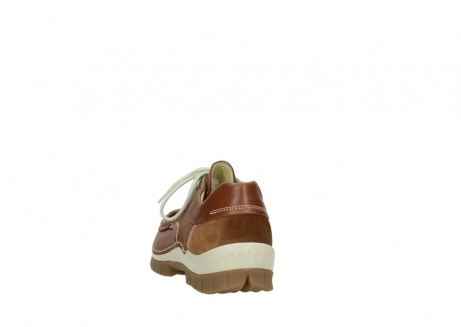 wolky chaussures a lacets 04701 fly 70430 cuir cognac_6
