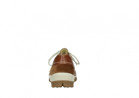 wolky chaussures a lacets 04701 fly 70430 cuir cognac_7