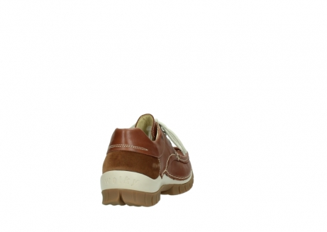wolky chaussures a lacets 04701 fly 70430 cuir cognac_8