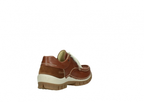 wolky chaussures a lacets 04701 fly 70430 cuir cognac_9