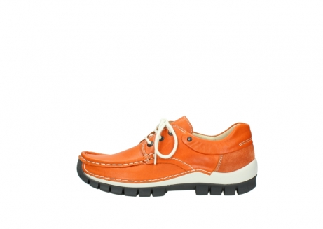 wolky chaussures a lacets 04701 fly 70550 cuir orange_1