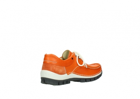 wolky lace up shoes 04701 fly 70550 orange leather_10
