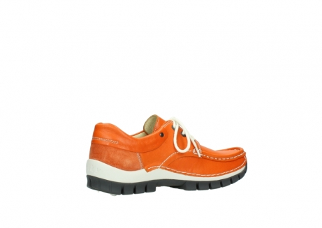 wolky chaussures a lacets 04701 fly 70550 cuir orange_11