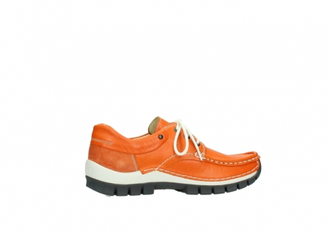 wolky lace up shoes 04701 fly 70550 orange leather_12