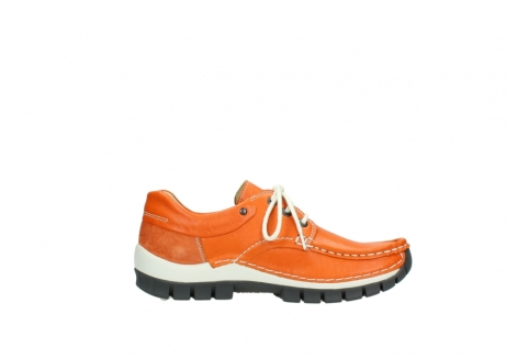 wolky chaussures a lacets 04701 fly 70550 cuir orange_13