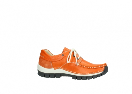 wolky chaussures a lacets 04701 fly 70550 cuir orange_14
