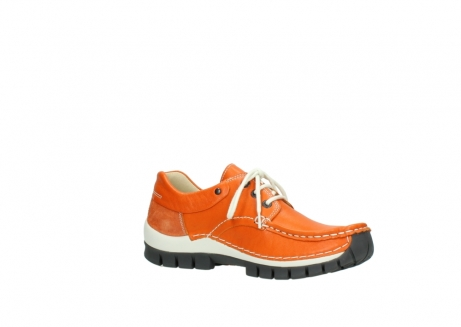 wolky chaussures a lacets 04701 fly 70550 cuir orange_15