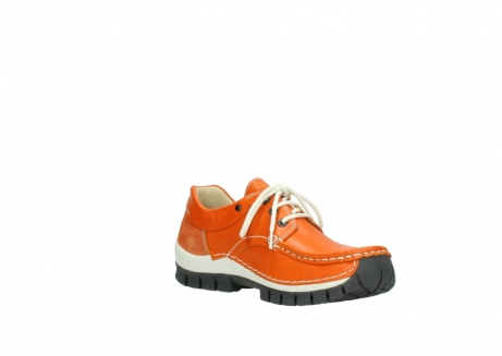 wolky chaussures a lacets 04701 fly 70550 cuir orange_16