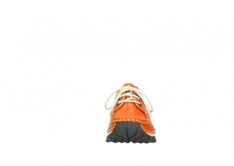 wolky lace up shoes 04701 fly 70550 orange leather_19