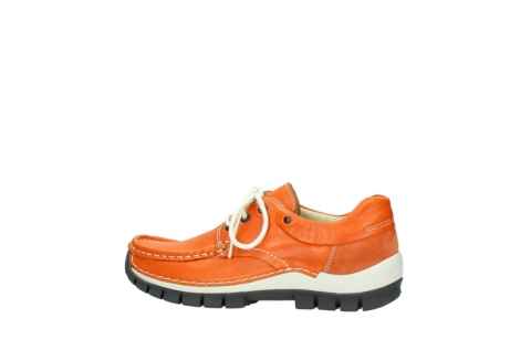 wolky chaussures a lacets 04701 fly 70550 cuir orange_2