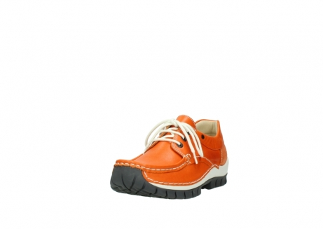 wolky chaussures a lacets 04701 fly 70550 cuir orange_21