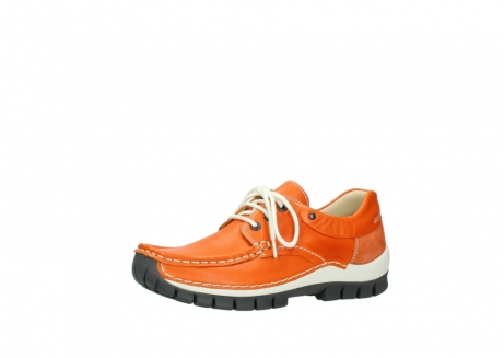 wolky chaussures a lacets 04701 fly 70550 cuir orange_23
