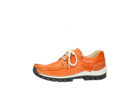 wolky chaussures a lacets 04701 fly 70550 cuir orange_24