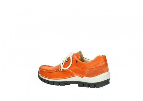 wolky chaussures a lacets 04701 fly 70550 cuir orange_3