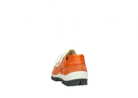 wolky lace up shoes 04701 fly 70550 orange leather_6