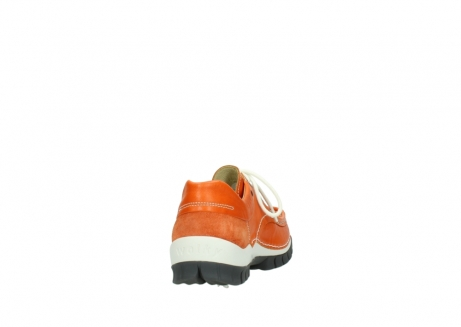 wolky lace up shoes 04701 fly 70550 orange leather_8