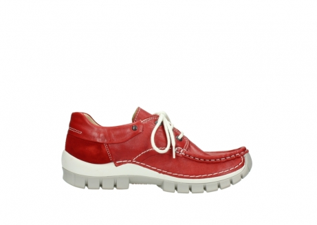 wolky chaussures a lacets 04701 fly 70570 cuir rouge_13
