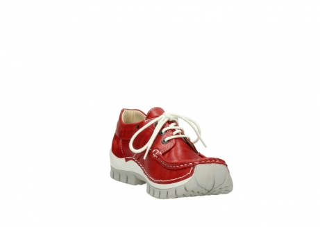 wolky lace up shoes 04701 fly 70570 red summer leather_17