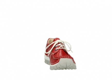 wolky lace up shoes 04701 fly 70570 red summer leather_18