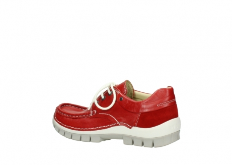 wolky lace up shoes 04701 fly 70570 red summer leather_3