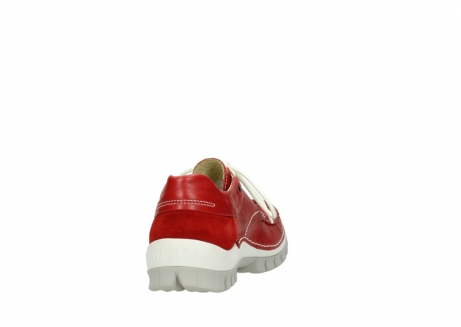 wolky chaussures a lacets 04701 fly 70570 cuir rouge_8
