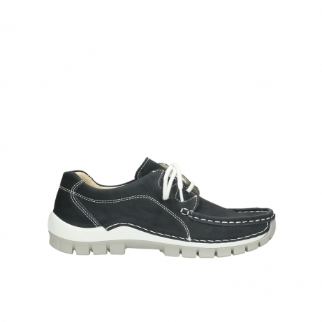 wolky chaussures a lacets 04705 kick summer 10070 nubuck noir