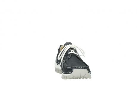 wolky chaussures a lacets 04705 kick summer 10070 nubuck noir_18