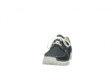 wolky chaussures a lacets 04705 kick summer 10070 nubuck noir_20