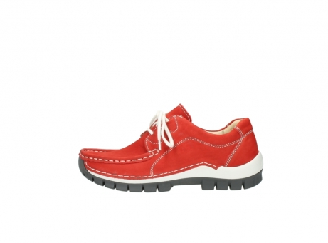 wolky chaussures a lacets 04705 kick summer 10500 nubuck rouge_1