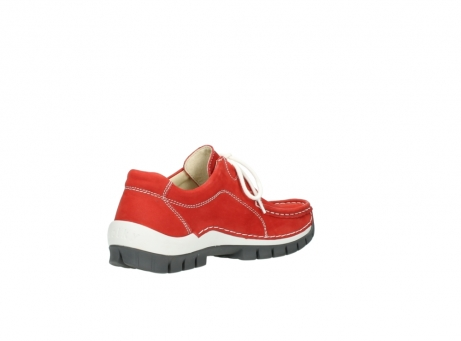 wolky chaussures a lacets 04705 kick summer 10500 nubuck rouge_10
