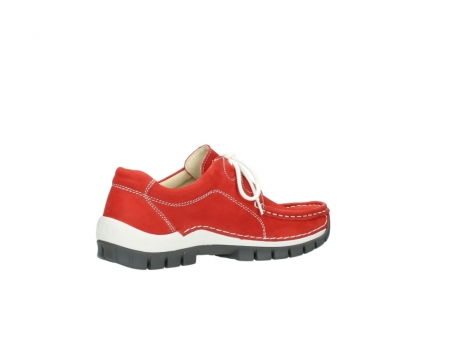 wolky chaussures a lacets 04705 kick summer 10500 nubuck rouge_11