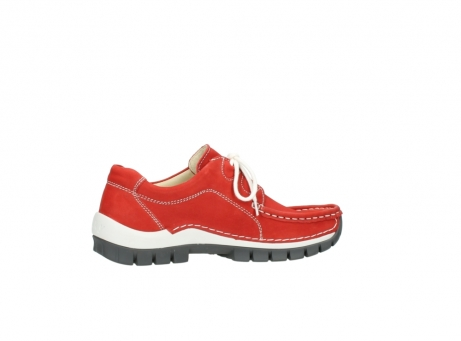 wolky chaussures a lacets 04705 kick summer 10500 nubuck rouge_12