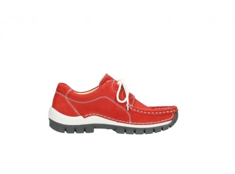 wolky chaussures a lacets 04705 kick summer 10500 nubuck rouge_13