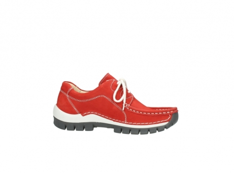 wolky chaussures a lacets 04705 kick summer 10500 nubuck rouge_14