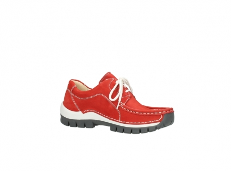 wolky chaussures a lacets 04705 kick summer 10500 nubuck rouge_15