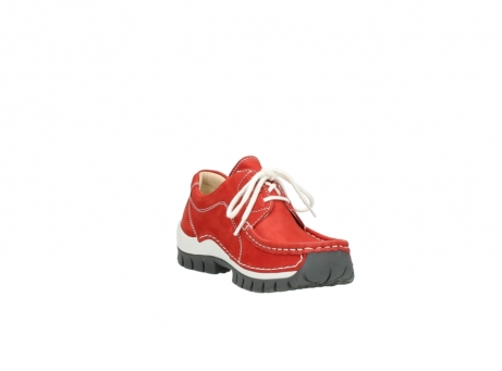 wolky chaussures a lacets 04705 kick summer 10500 nubuck rouge_17